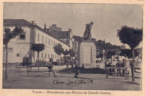 Resultado de imagem para monumento aos mortos da grande guerra Tomar